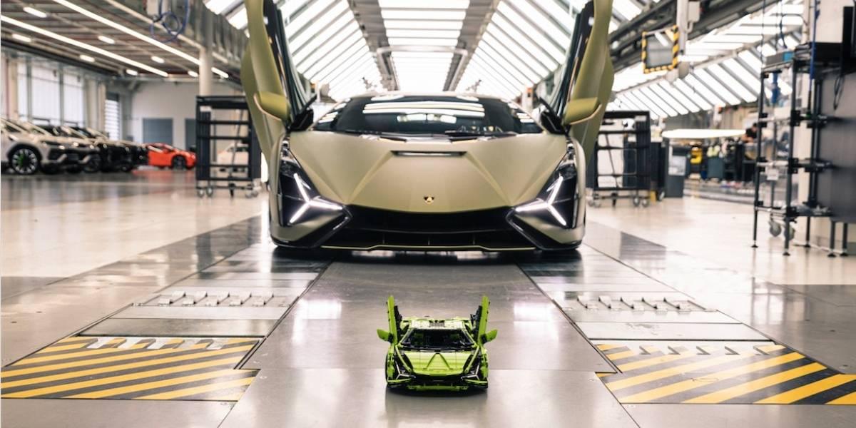 Ahora puedes tener un Lamborghini Sián... hecho de Legos