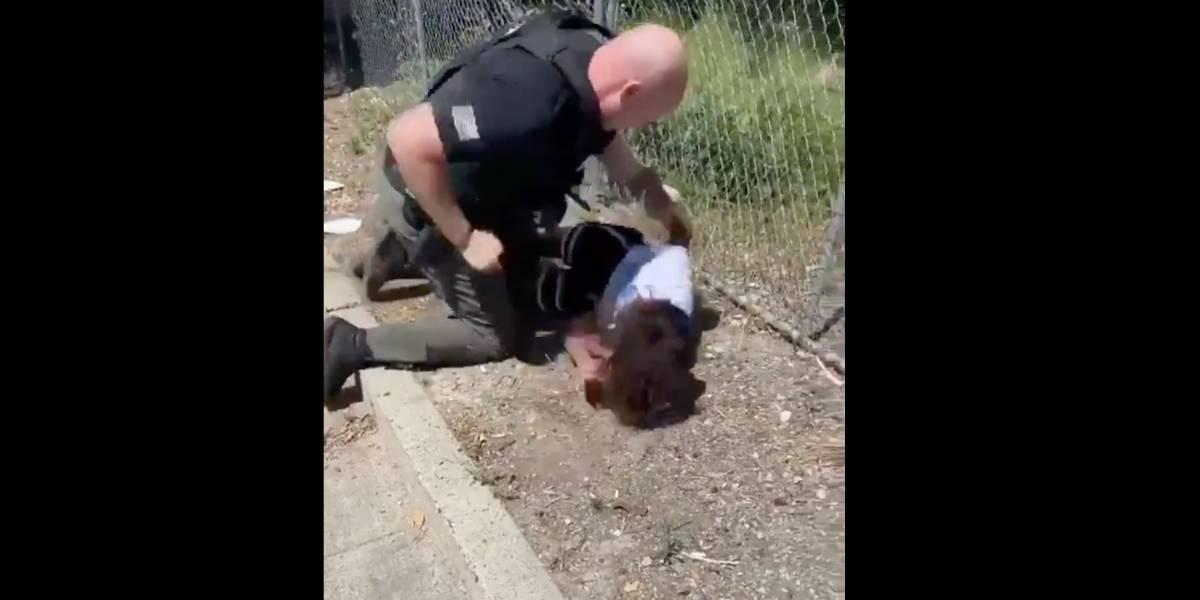 Otro video de brutalidad policiaca en EEUU remece las redes: policía golpea a niño de 14 años afroamericano