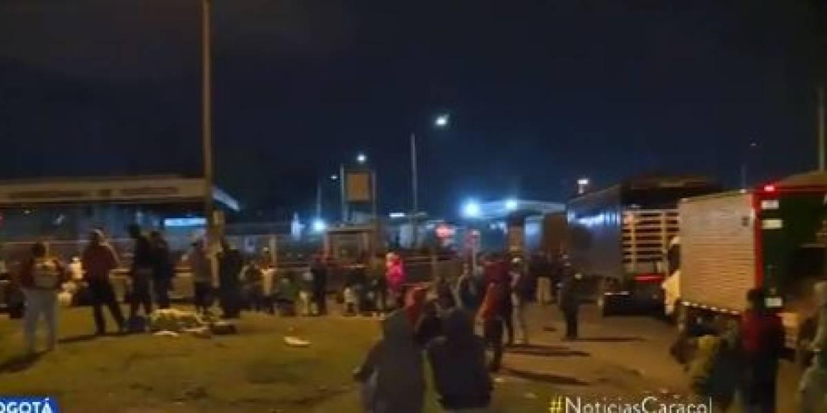 Caos y protestas en Corabastos por cierre de bodegas