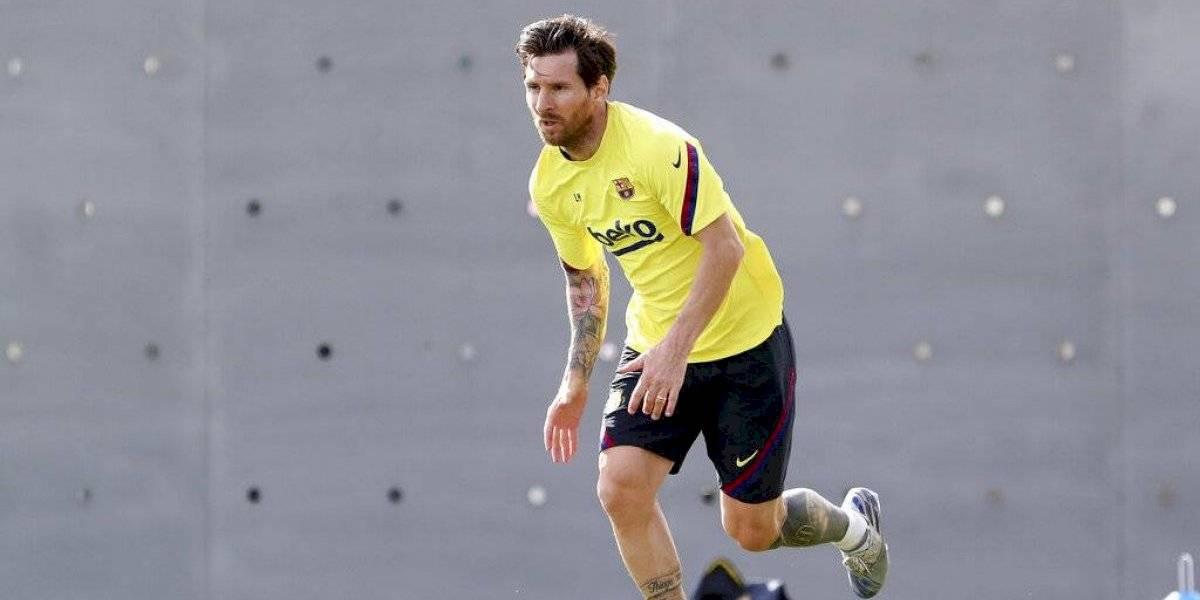 Lionel Messi desata las alarmas en el Barcelona