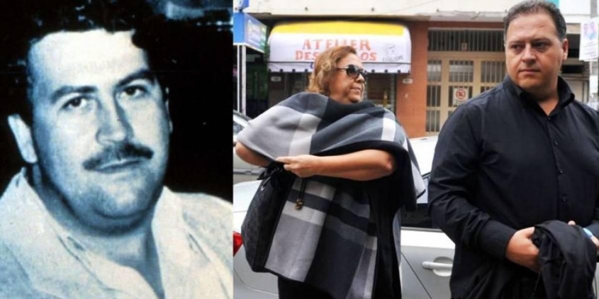 La viuda y el hijo de Pablo Escobar a juicio en Argentina por lavado de dinero
