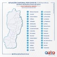 Contagios Quito 3 de junio