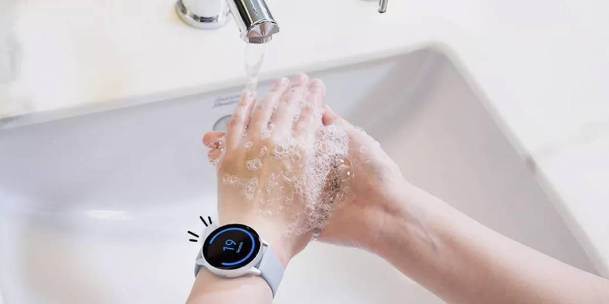 Coronavirus: Samsung crea app para lavarte las manos con su Galaxy Watch