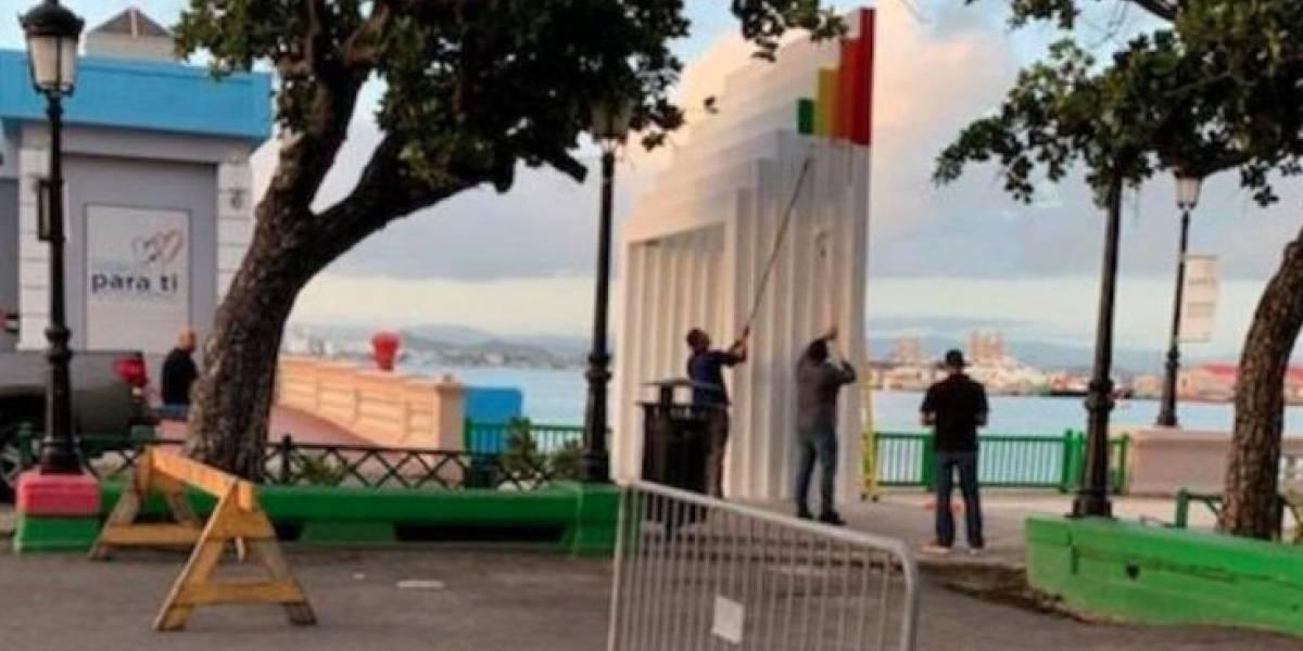 Agentes que vandalizaron Pórtico de la igualdad siguen trabajando en la Policía