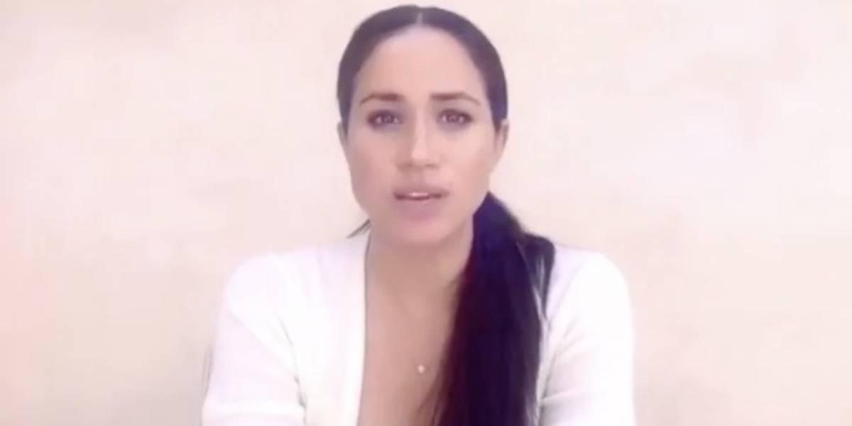 Meghan Markle aparece en video y se pronuncia por la muerte de George Floyd