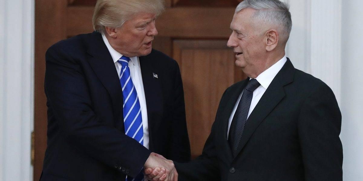 """El anterior secretario de Defensa de Trump acusa al presidente de buscar """"dividir"""""""