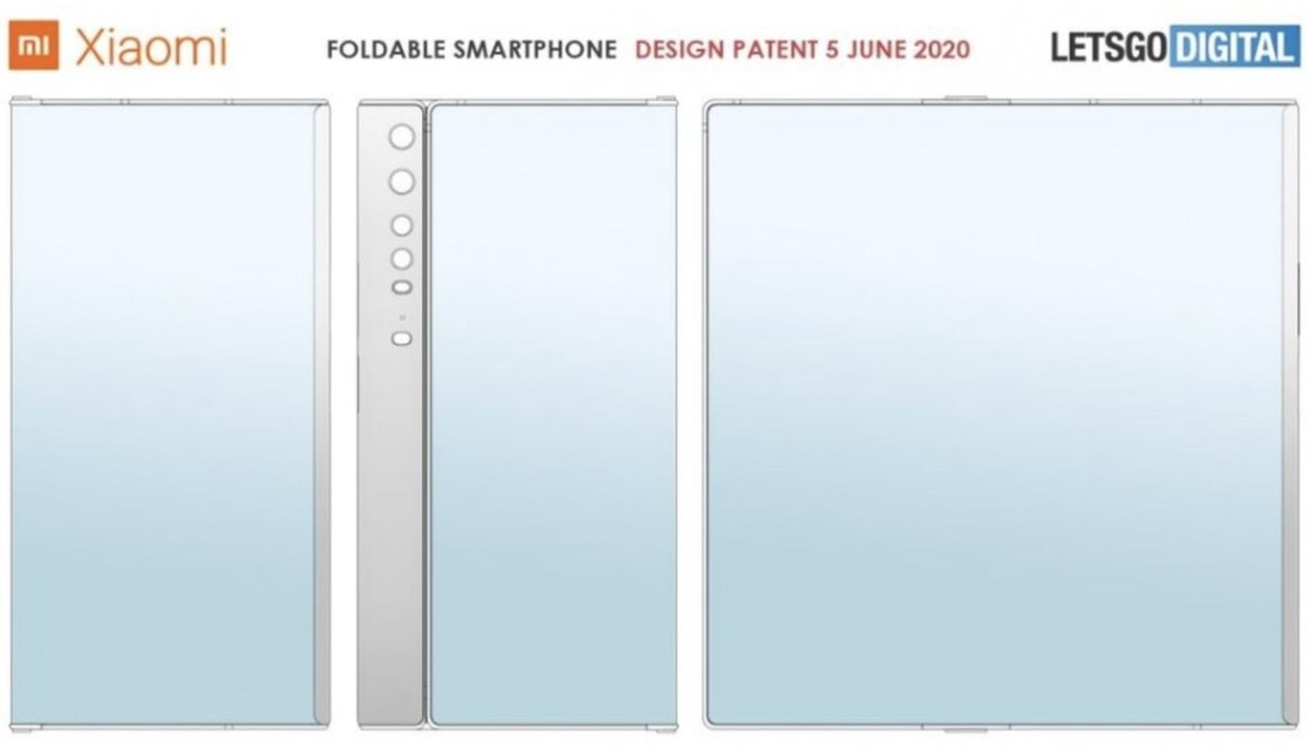 Xiaomi patenta un celular plegable casi idéntico al Huawei Mate Xs ...
