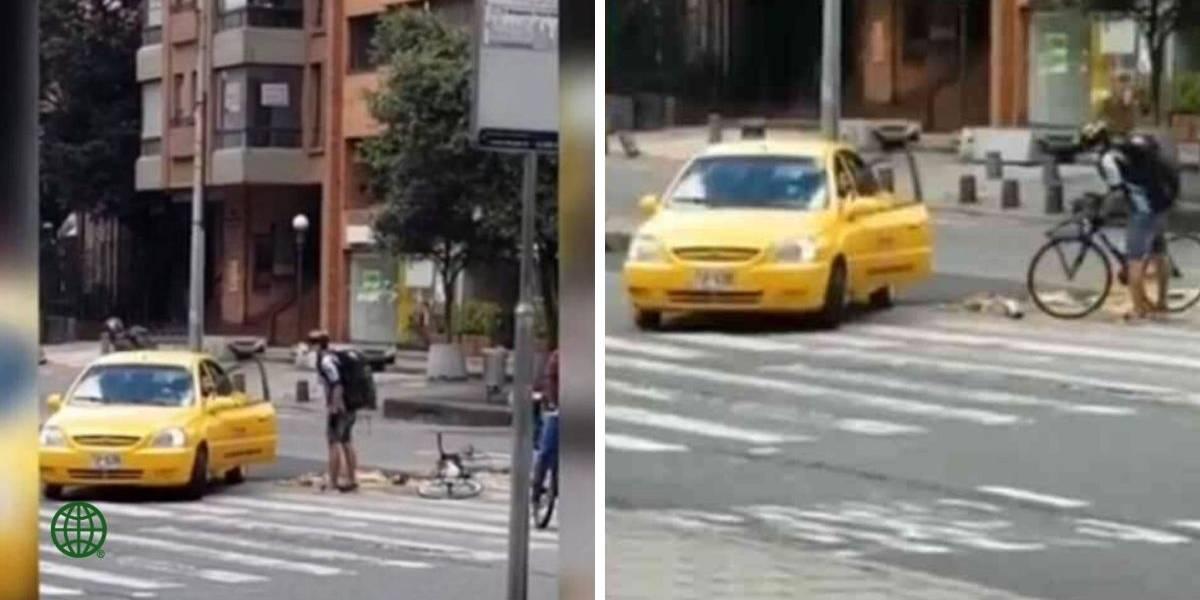 (VIDEO) El crudo relato de joven ciclista arrollado por un taxista