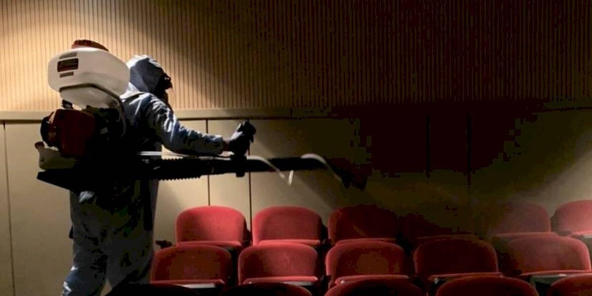 ICP realiza desinfección en los teatros Victoria Espinosa y Francisco Arriví
