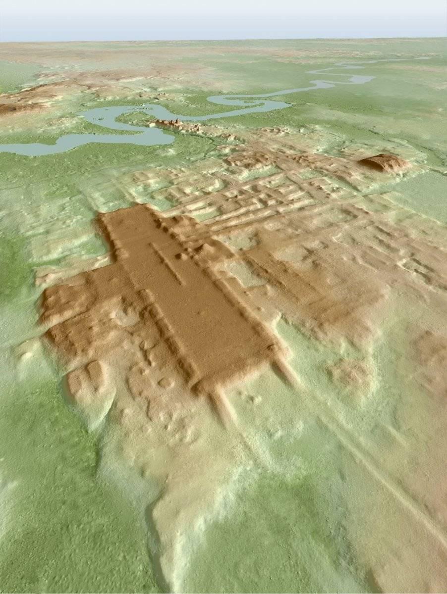Mapa 3D de Aguada Fenix