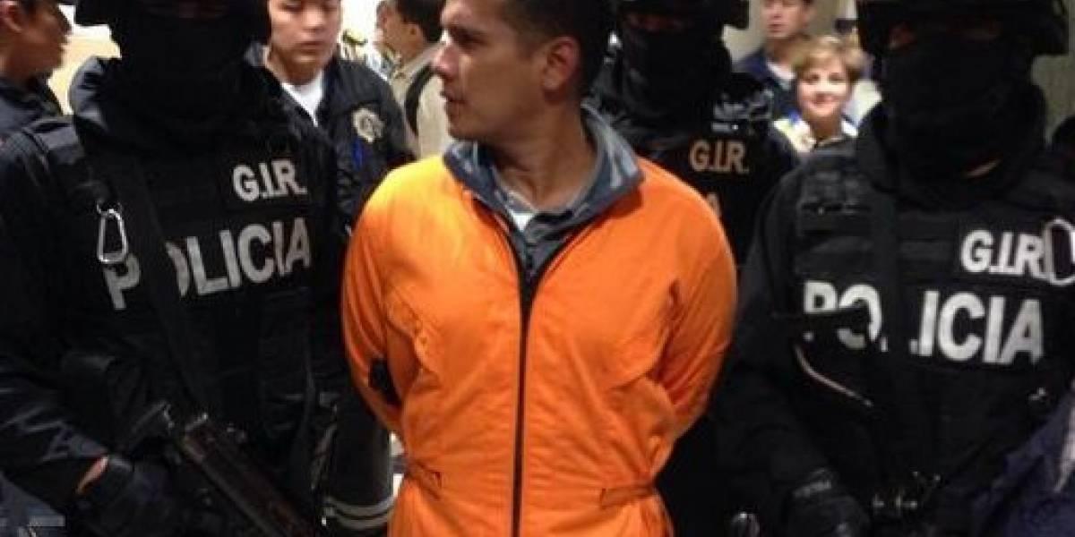 Dictan prisión contra juez que cambió la sentencia del líder de 'Los Choneros', Jorge Luis Zambrano