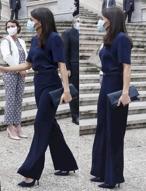 Letizia brilla en el verano: Este es el pantalón preferido por las royals para estilizar la figura