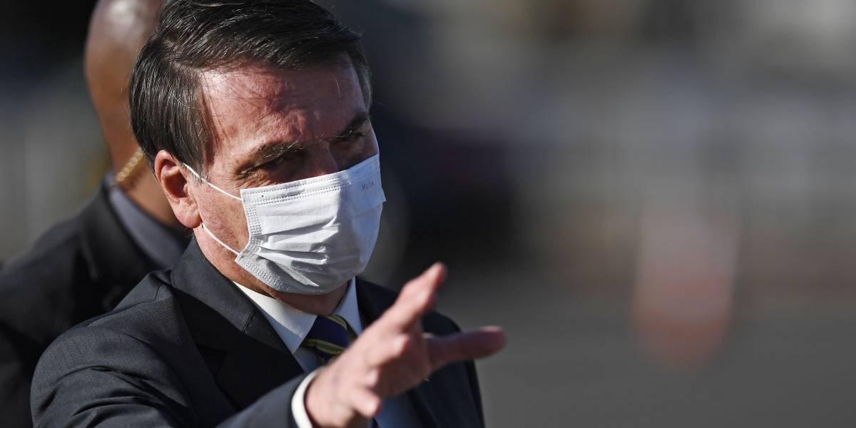 Presidente de Brasil amenaza con dejar la OMS en plena pandemia