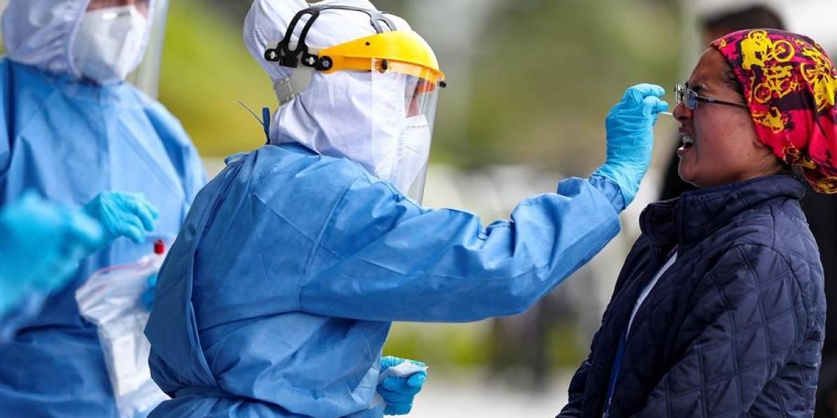 Ecuador registró casi 8.000 nuevos casos de coronavirus en 15 días