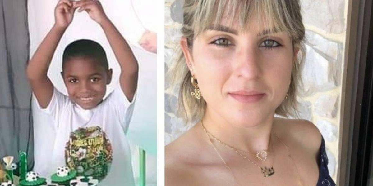 El caso de un niño que cayó de un noveno piso por descuido de mujer