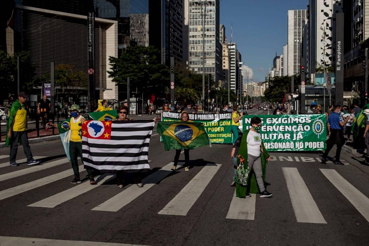 Manifestação - avenida Paulista - 7 de junho de 2020