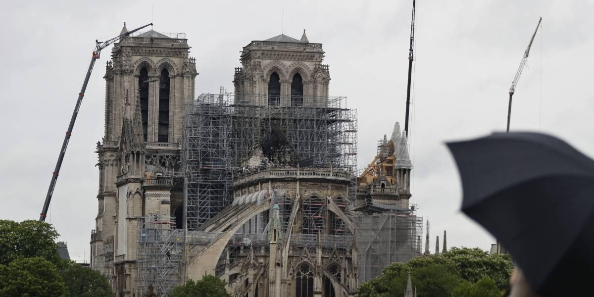 Se reanudan labores de restauración en Notre Dame
