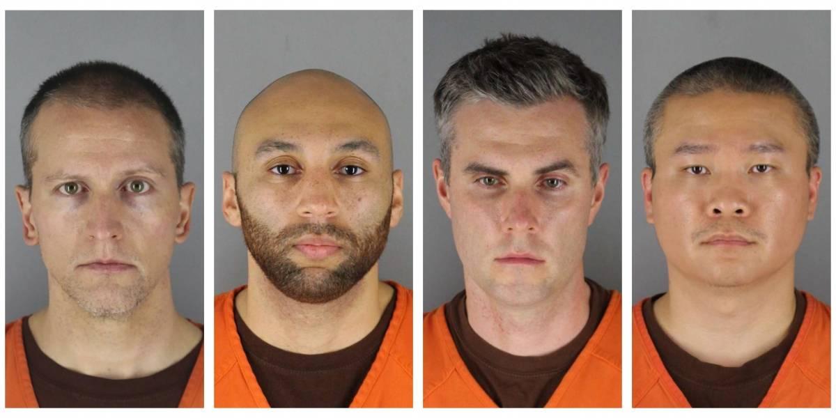 Compañeros de Derek Chauvin incumplieron normas durante el arresto de George Floyd