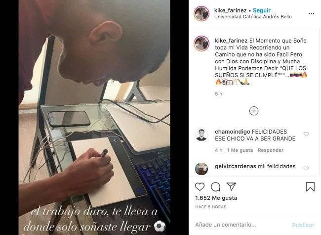 Firma Fariñez con Lens de Francia