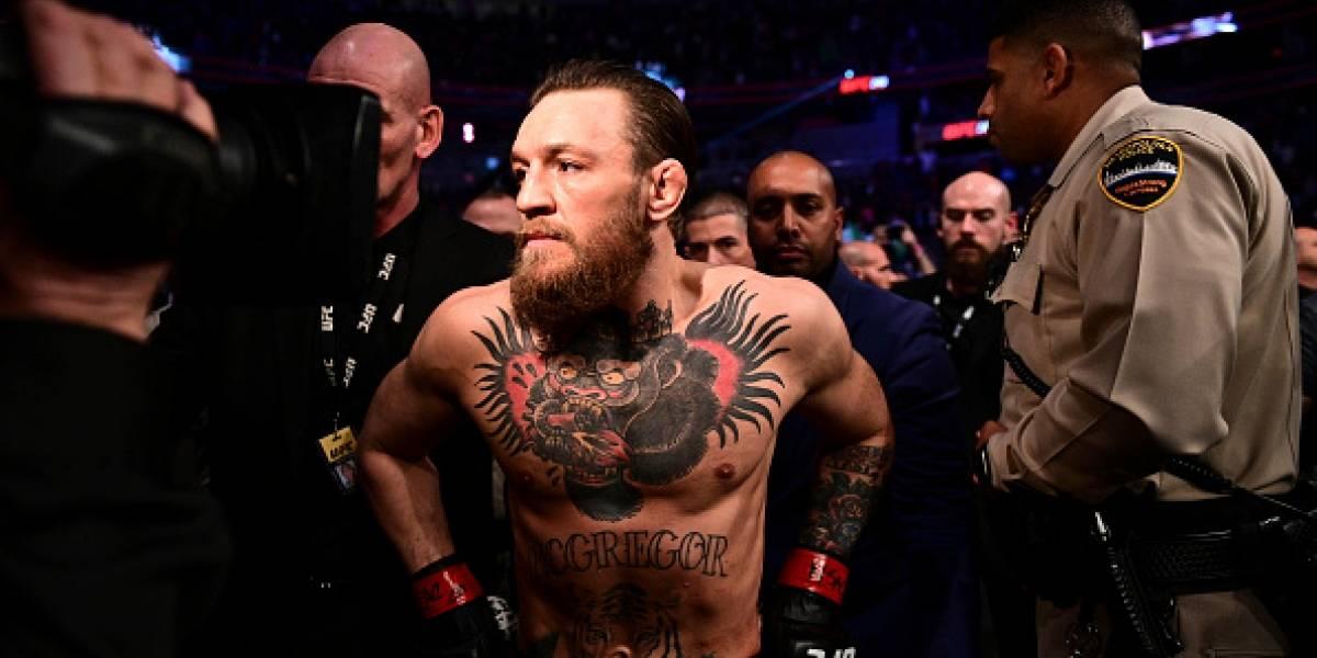 Conor McGregor vuelve a retirarse por tercera vez