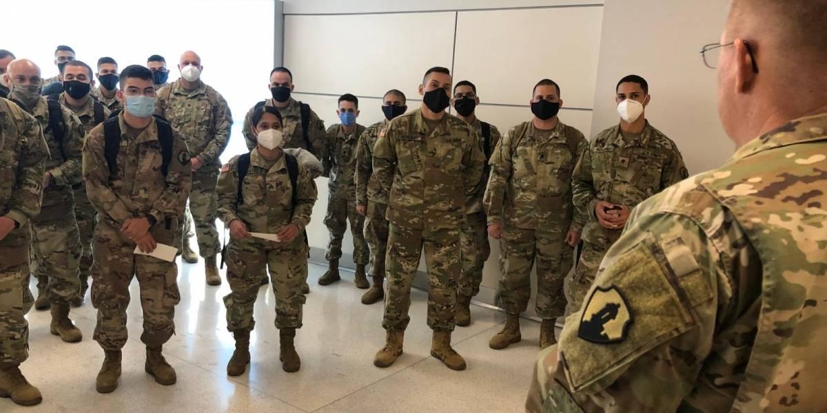 Movilizan a 50 soldados boricuas de la Reserva del Ejército hacia Irak