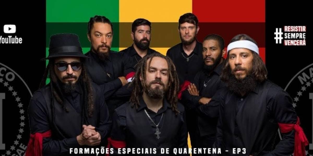 Reggae nacional: Banda Mato Seco tem live solidária marcada para 16h20