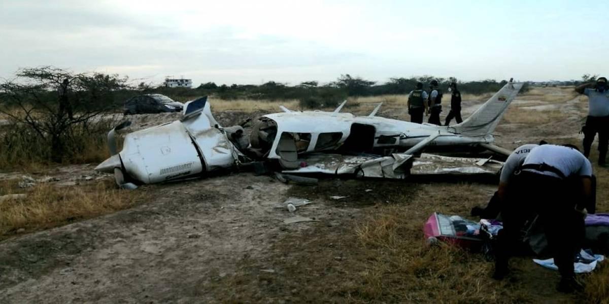 Un fallecido y dos mujeres heridas tras accidente de avioneta en Tumbes, Perú