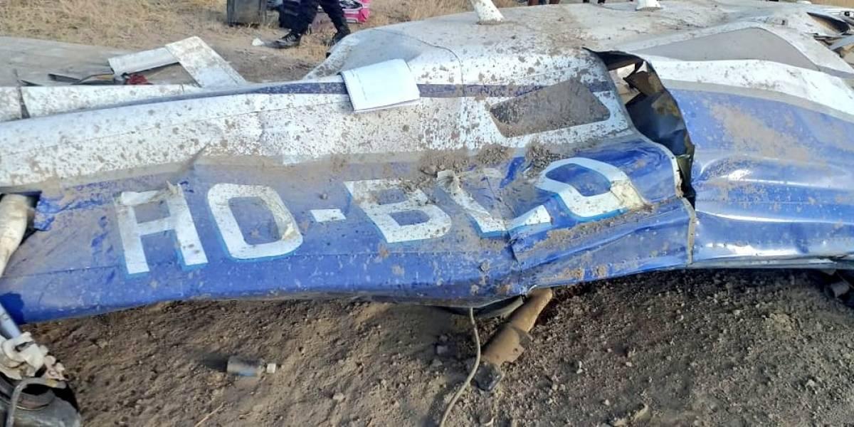 Uno de los accidentados de la avioneta en Perú dio positivo para COVID-19