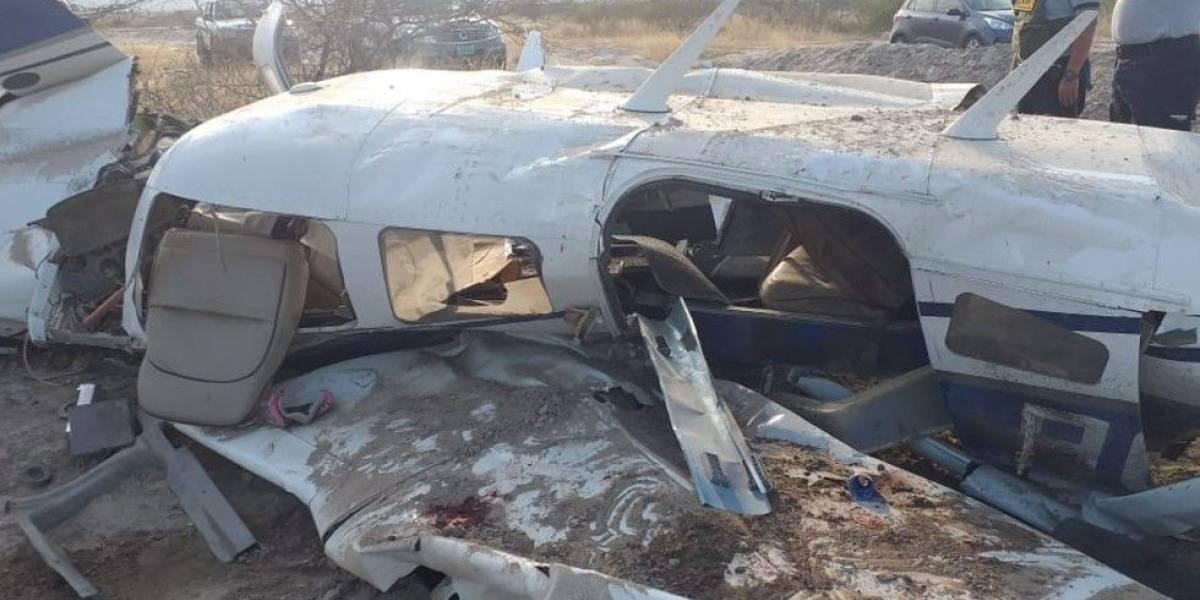 ¿Quiénes iban en la avioneta que se accidentó en Tumbes, Perú?
