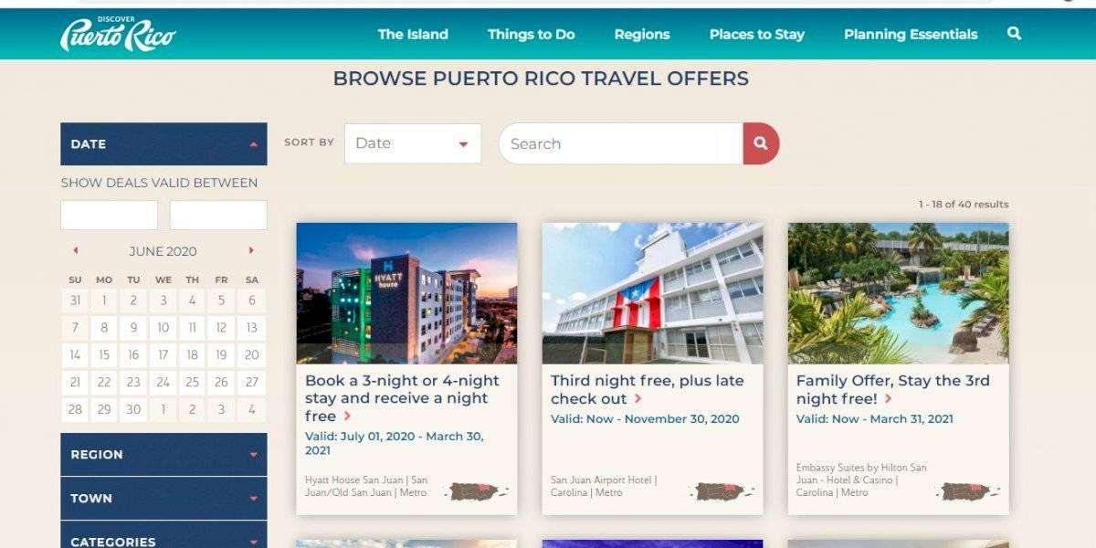 Empresas turísticas podrán promocionar sus ofertas en Discover Puerto Rico