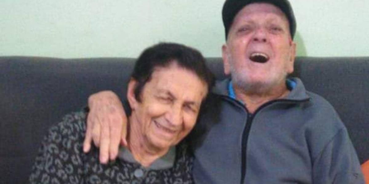 Abelídio e Olíria: casados desde 1950, venceram juntos a covid-19