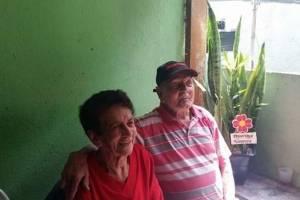 Abelídio, de 93 anos, e pela dona Olíria, de 92