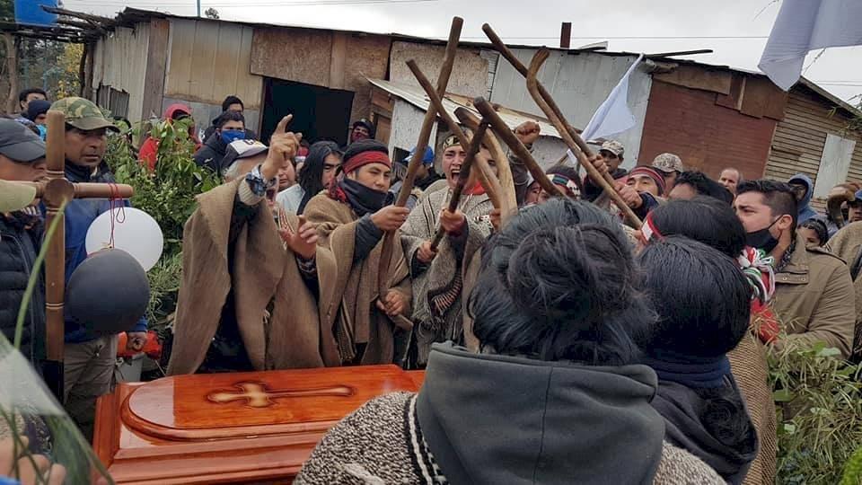 funeral comunero mapuche
