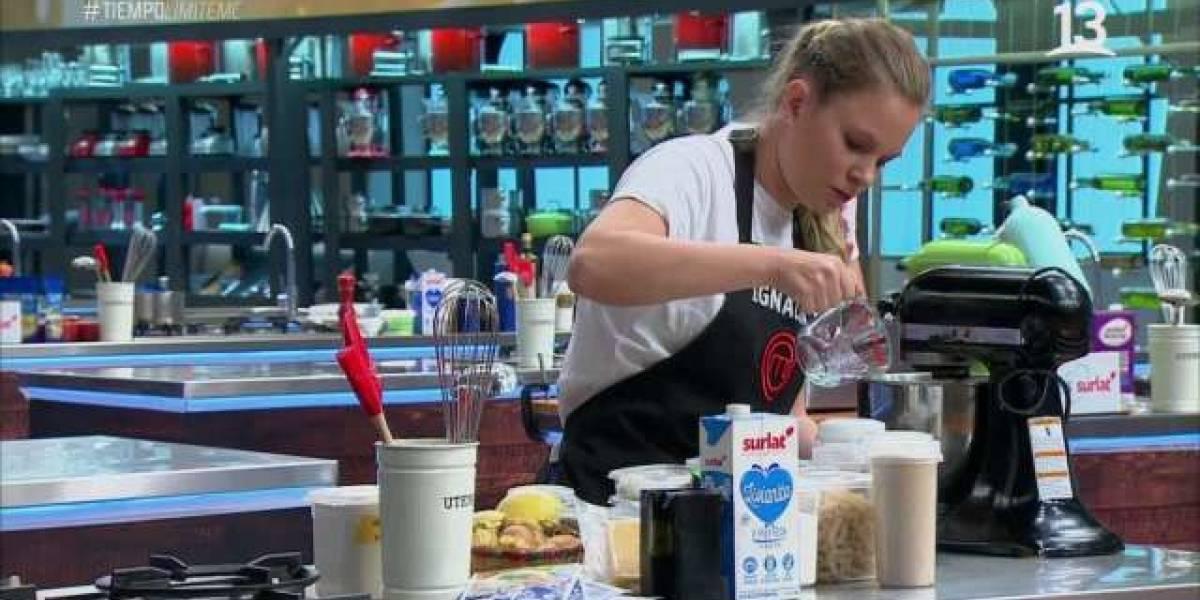 La parada de carros de Ignacia Allamand a Rocío Marengo en Master Chef