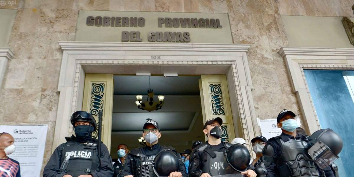 15 alcaldes del PSC firman acta con pedido de destitución del Prefecto del Guayas