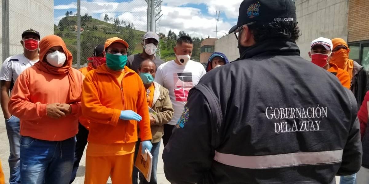 Imágenes de amotinamiento en la cárcel de Turi, internos exigen atención sanitaria