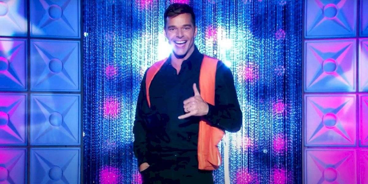 """Los mejores momentos de Ricky Martin en """"RuPaul's Drag Race All Stars"""""""