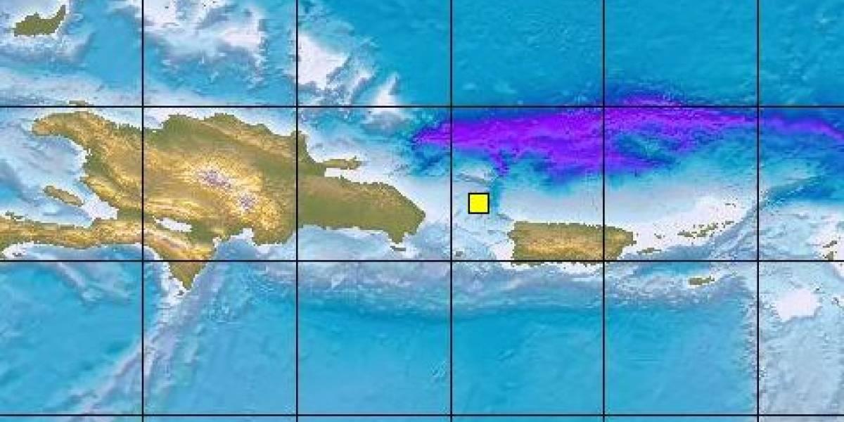 Se registra temblor al noroeste de Puerto Rico
