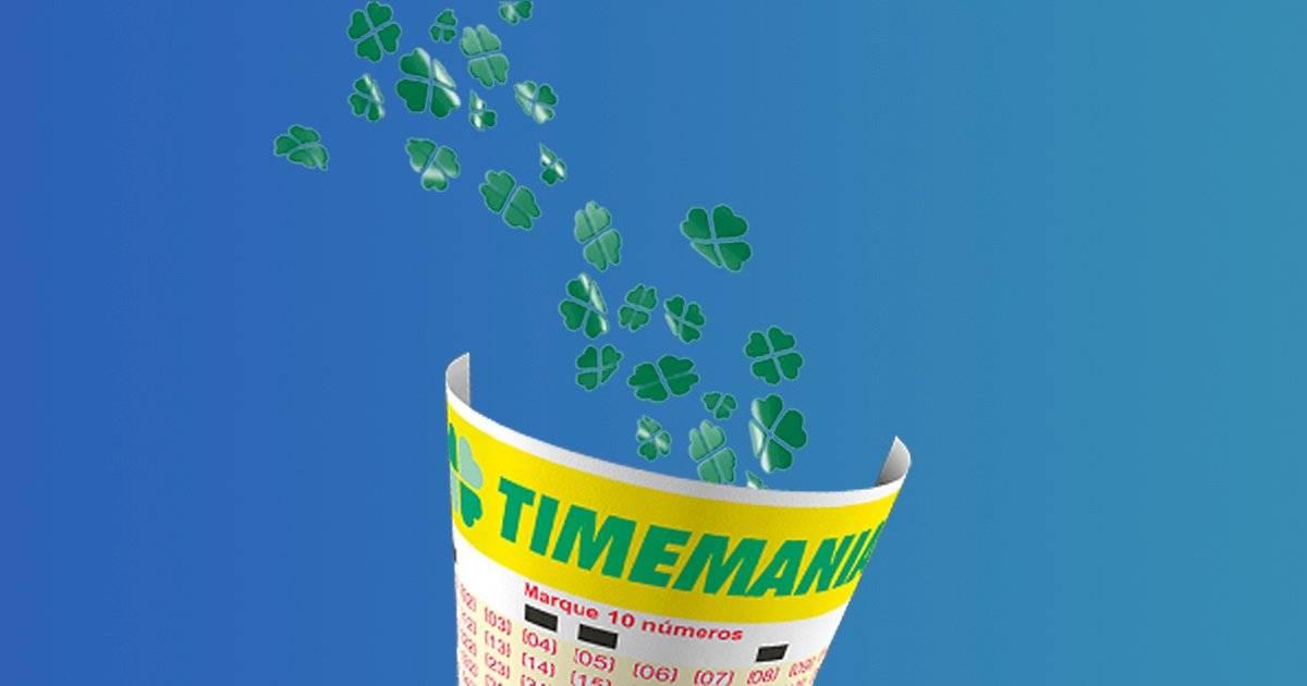 Timemania Loterias Metro