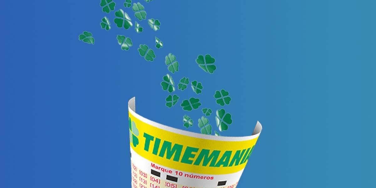Timemania 1518: veja os números sorteados neste sábado, 1º de agosto