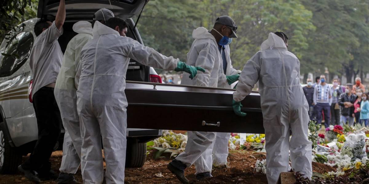 São Paulo ultrapassa 14 mil mortes por covid-19; veja balanço de sábado
