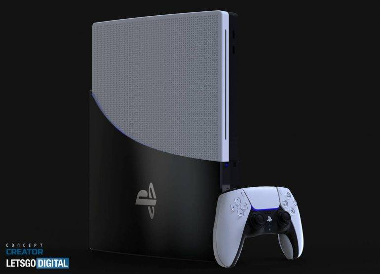 PlayStation 5 render