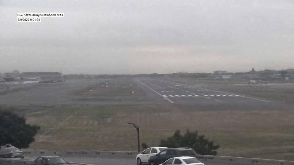 Aeropuerto de Guayaquil José Joaquín de Olmedo tras caída de ceniza del volcán Sangay
