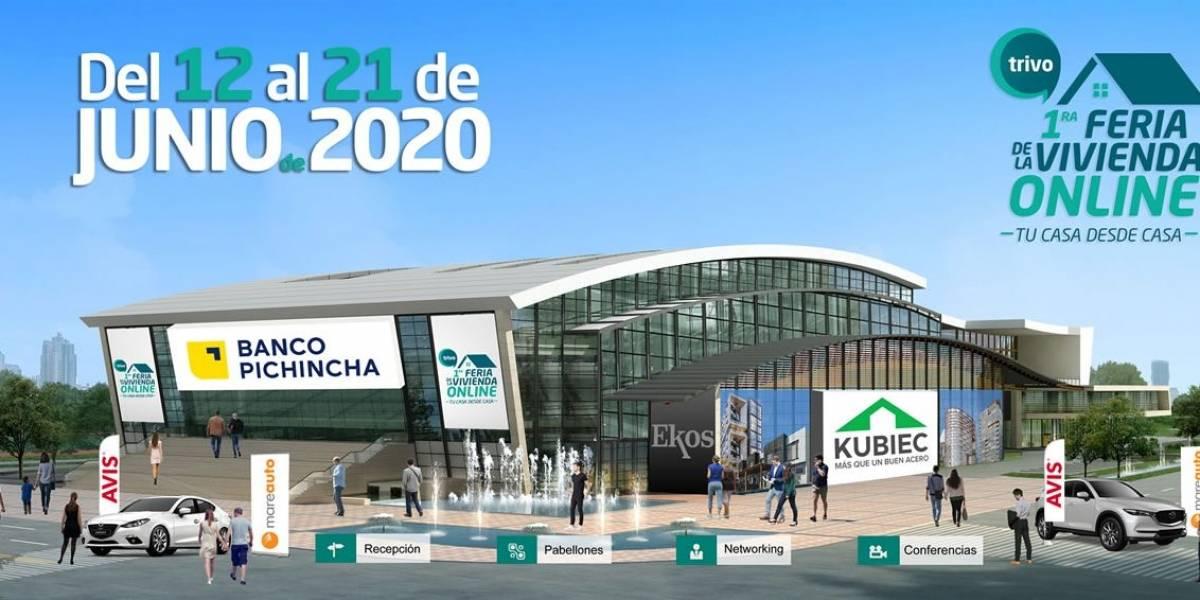 ¡Primera Feria de la Vivienda Online! Se prepara el terreno para reactivar la construcción Ecuador