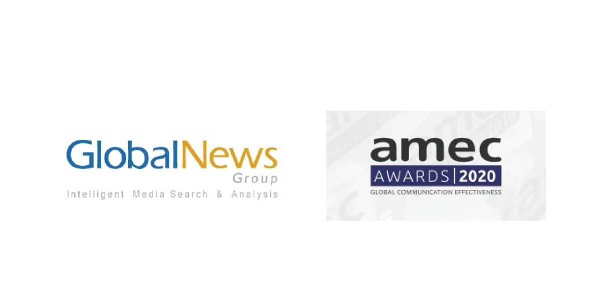 GlobalNews Group recibe 3 nominaciones en los AMEC Awards 2020