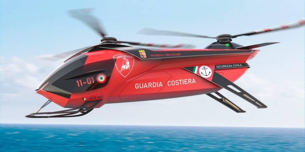 Lamborghini diseña su propio helicóptero y ya tiene nombre