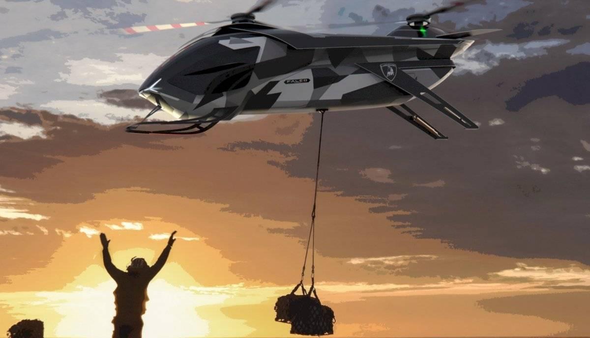Lamborghini diseñó su propio helicóptero