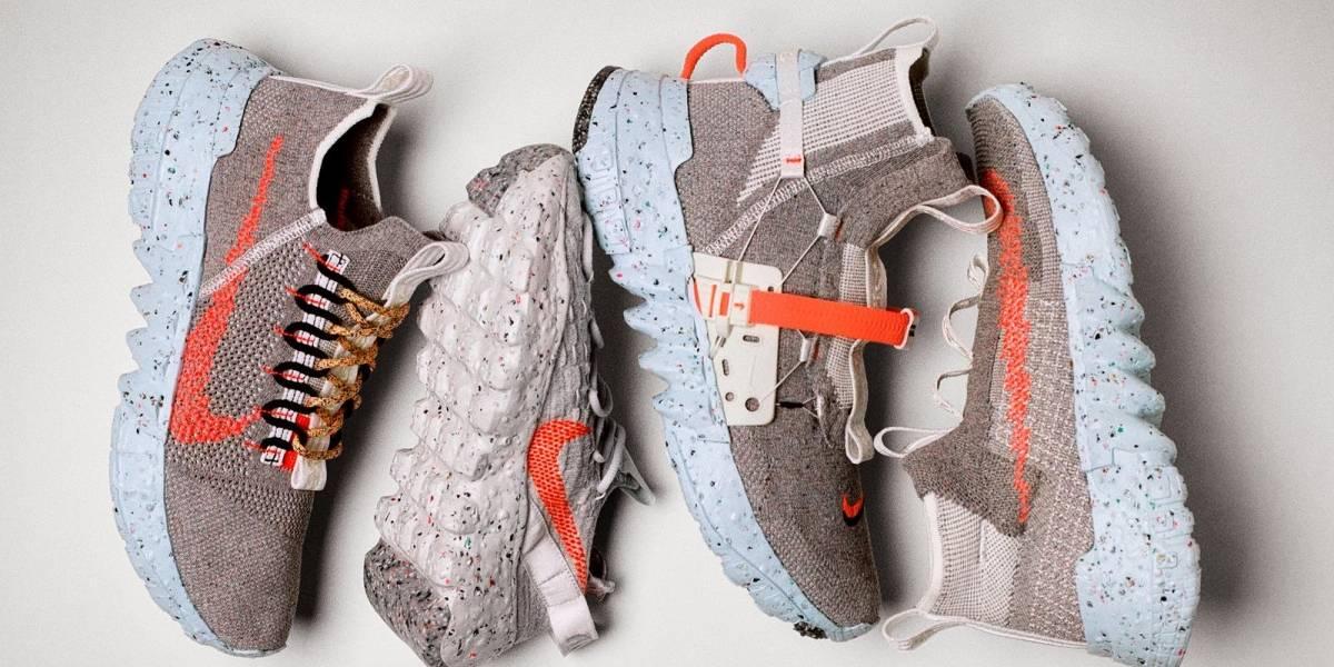 Space Hippie: Nike va a lanzar  en Chile sus zapatillas hecha de basura