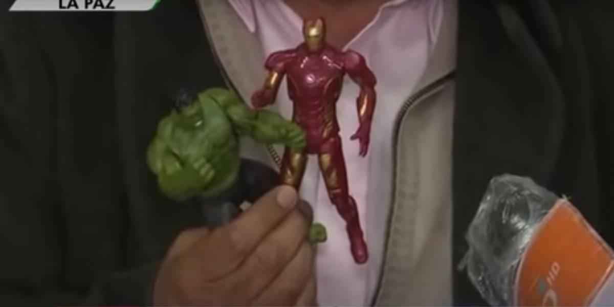 Gobierno de Bolivia explica sobre el COVID-19 con muñecos de 'Thanos' y 'The Avengers'