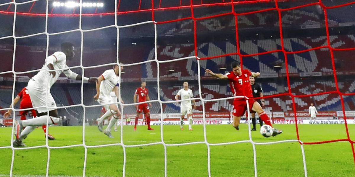 Aránguiz y el Leverkusen tendrán su revancha: el Bayern derrotó al Fráncfort y es finalista de la Copa de Alemania